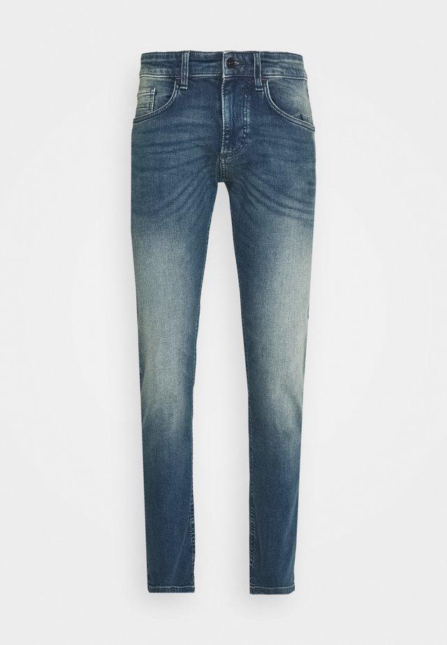 Jean slim - indgo greencast used