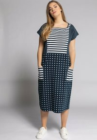 Ulla Popken - Jersey dress - marine - 0