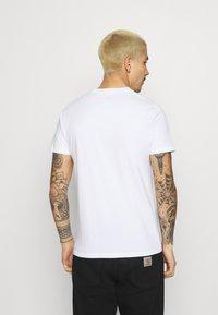Hollister Co. - ICONIC 3 PACK - T-shirt basique - WHITE/NAVY/BLACK - 2