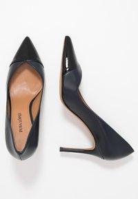 Pura Lopez - High heels - navy blue/nero - 3