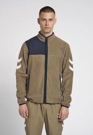 Training jacket - walnut