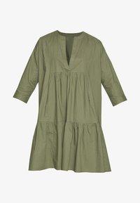 YAS Petite - YASMERIAN DRESS PETITE ICONS - Sukienka letnia - four leaf clover - 4