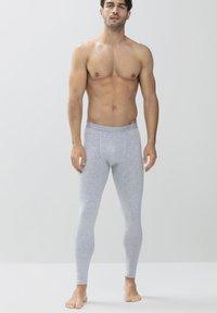 mey - Pyjama bottoms - light grey melange - 1