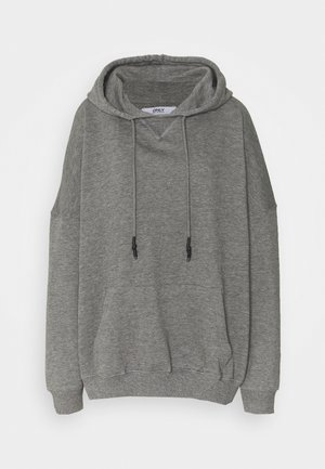 ONLDOVE OVERSIZE TALL - Hoodie - medium grey melange
