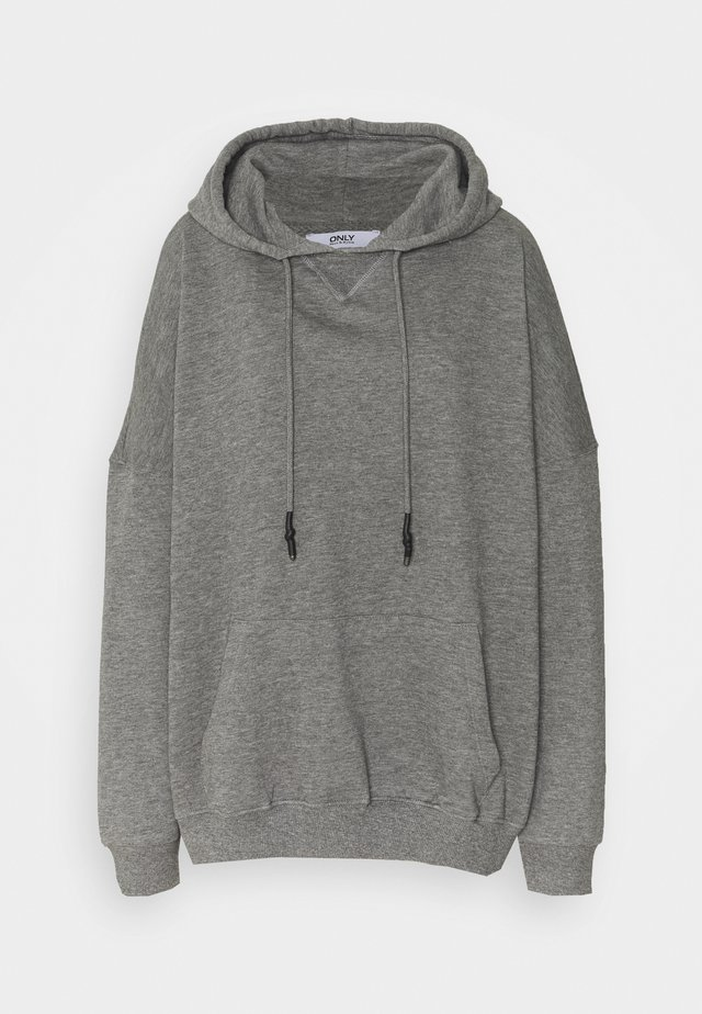 ONLDOVE OVERSIZE TALL - Hoodie - medium grey melange