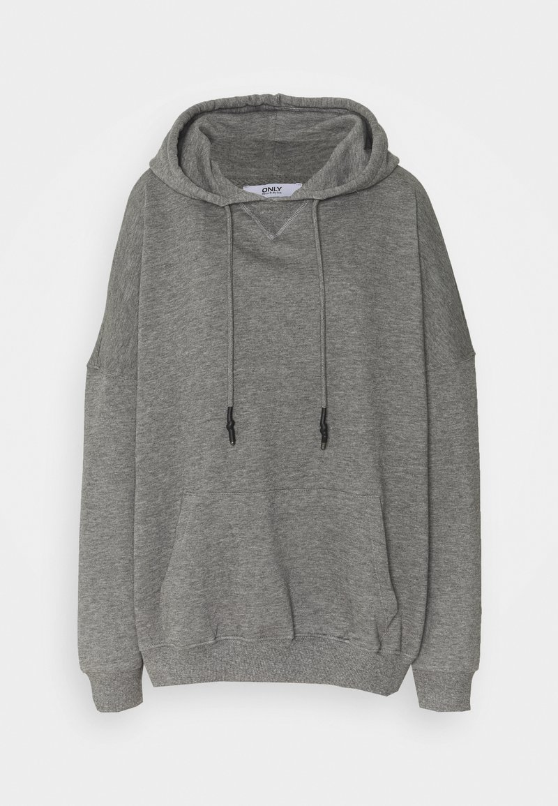 ONLY Tall - ONLDOVE OVERSIZE TALL - Hoodie - medium grey melange