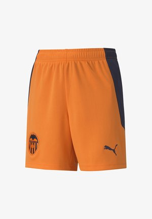 Shorts - vibrant orange-peacoat