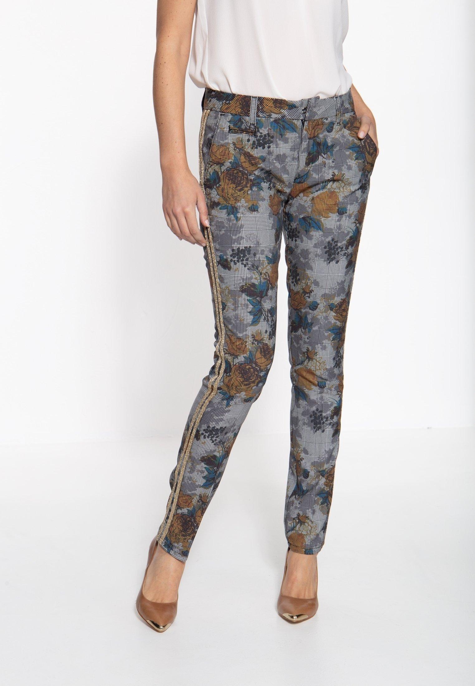 Femme MIT DETAILREICHER MU - Pantalon classique