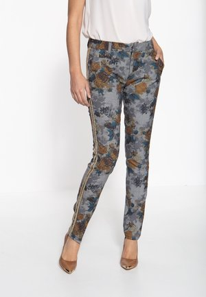 MIT DETAILREICHER MU - Trousers - multi-coloured
