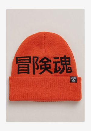 Beanie - havana orange