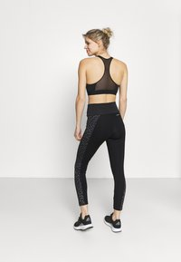 adidas Performance - BELIEVE THIS 2.0 LACE AEROREADY WORKOUT COMPRESSION 7/8 LEGGINGS - Tights - black/grey four - 2