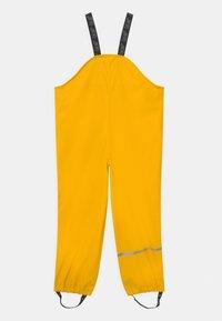 CeLaVi - OVERALL SOLID UNISEX - Kalhoty do deště - yellow - 1