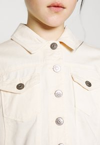 ONLY - ONLWESTA COLOR CROPPED JACKET - Denim jacket - whitecap gray - 4