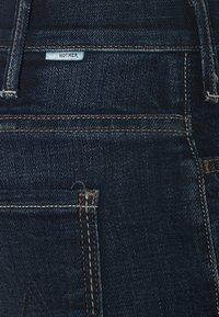 Mother - HUSTLER ANKLE FRAY - Flared Jeans - dark blue - 2