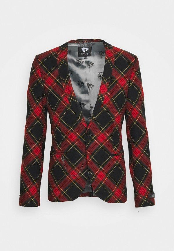 Twisted Tailor AWLESTON SUIT - Garnitur - red/czerwony Odzież Męska HKWZ