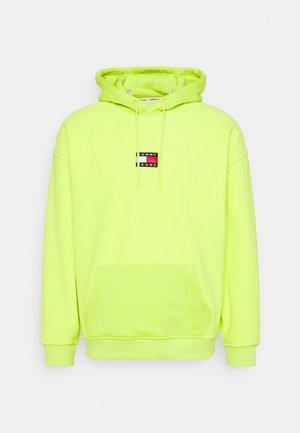 BADGE POLAR - Jersey con capucha - neon lime