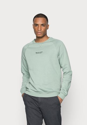 CRAFTED GOODS CREW - Bluza - green
