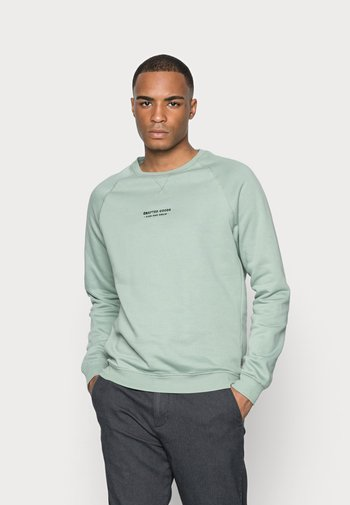 CRAFTED GOODS CREW - Felpa - green
