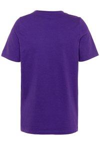 Nike Performance - NBA LA LAKERS LOGO TEE - Triko spotiskem - court purple - 1