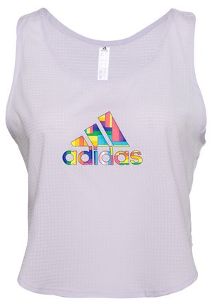 PRIDE TECH CROP - Top - lilac