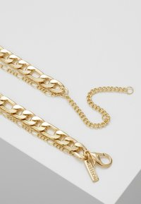 Topshop - FINE TAG MULTIROW - Collana - gold-coloured - 2