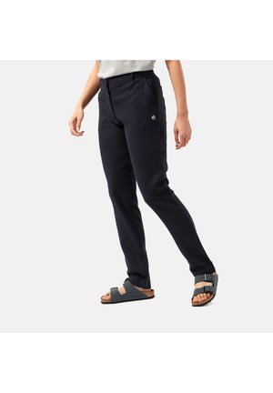 Trousers - blue navy