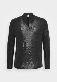 Vero Moda - VMKYLIE HIGHNECK - Top sdlouhým rukávem - black/black - 6