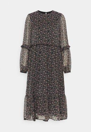 YASMIRA MIDI DRESS  - Day dress - black