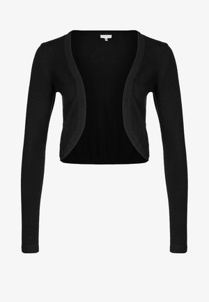 ASTRID BOLERO - Strickjacke - black deep