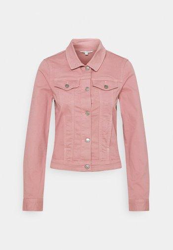 RIDERS JACKET - Denim jacket - cozy rose