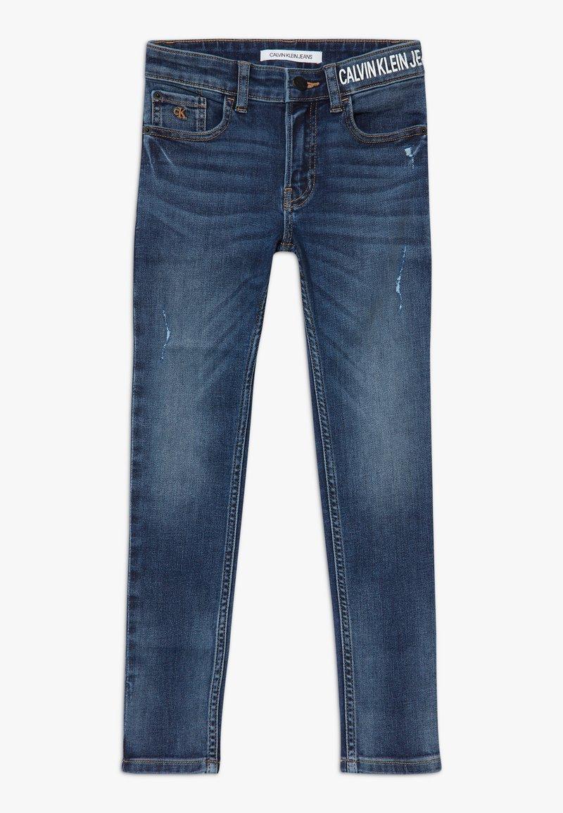 Calvin Klein Jeans - DESTROY - Jeans Skinny Fit - blue