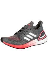 adidas Performance - Stabilty running shoes - grey five / silver metallic / signal pink - 2