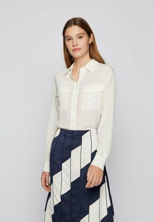 BIVENTI - Button-down blouse - natural