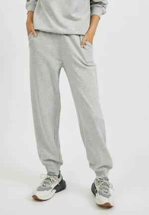Pantalones deportivos - light grey melange