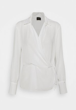 BLUSA INCROCIATA - Blůza - star white