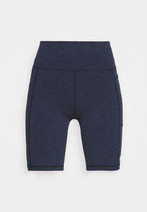 SUPER SCULPT BIKER SHORTS - Legging - navy blue