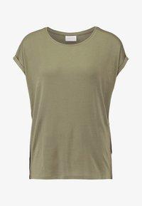 Vero Moda - VMAVA PLAIN - T-shirt basic - kalamata - 4