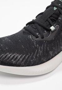 adidas Performance - ALPHABOUNCE+ PARLEY - Neutrální běžecké boty - core black/footwear white - 5