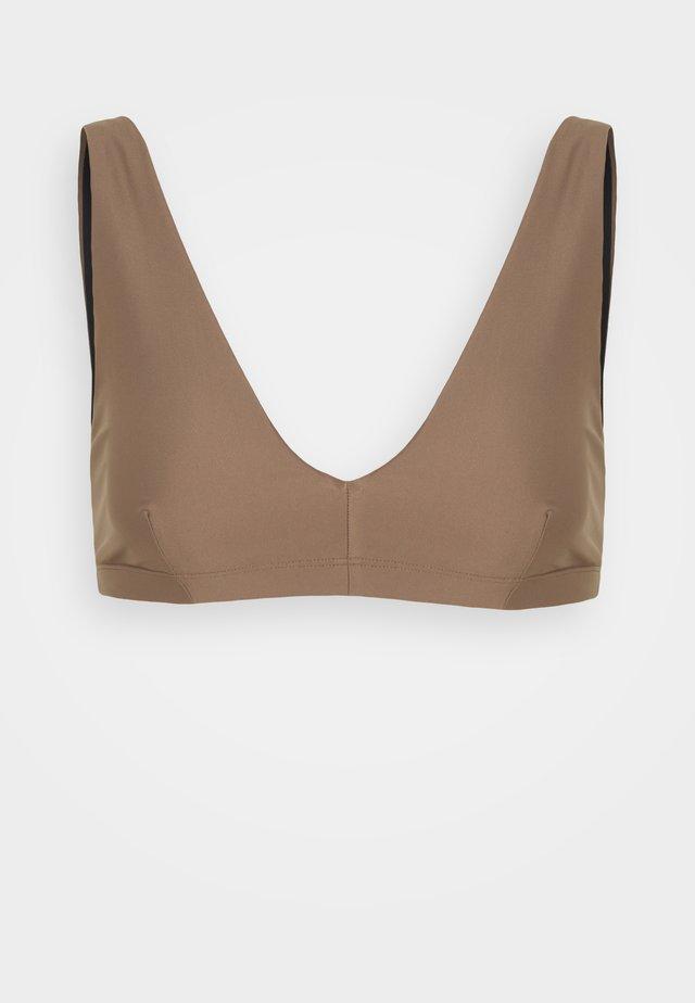 SHINY BRA  - Horní díl bikin - nougat brown