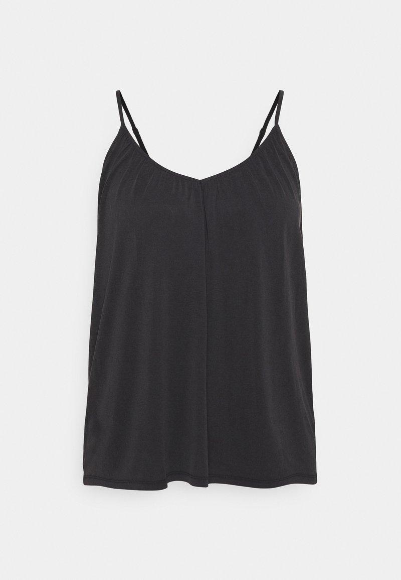 Vero Moda Curve - VMFILLI SINGLET - Top - black
