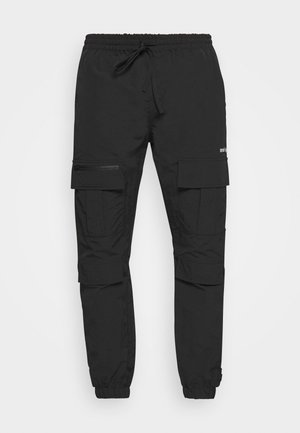 TROUSER HYDRO UNISEX - Cargo trousers - black