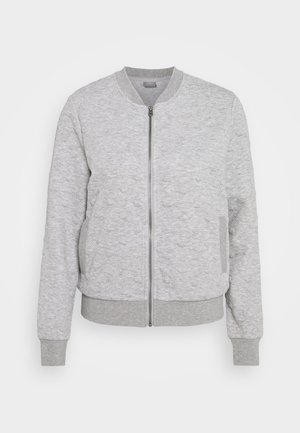 ONLKIMBERLY JOYCE - Zip-up hoodie - light grey melange