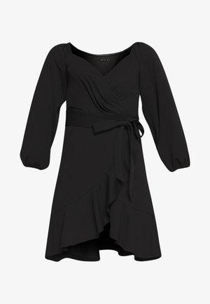 LOVLEY FRILL DRESS - Cocktailklänning - black