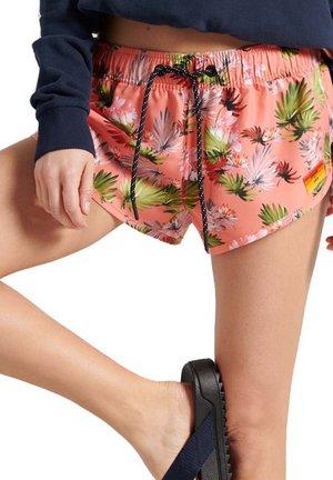 Swimming shorts - brush palm persimmon