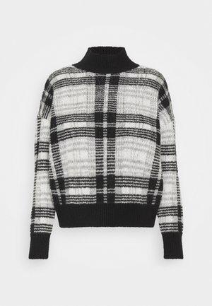 ONLNADINE - Jumper - black/white