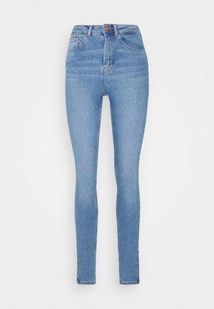 PCHIGHFIVE FLEX - Jeansy Skinny Fit - light blue denim
