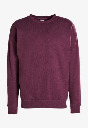 Sweatshirt - redwine