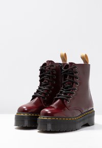 Dr. Martens - VEGAN JADON II - Lace-up ankle boots - cherry red - 4