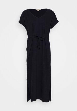 KAFTAN DRESS - Day dress - navy