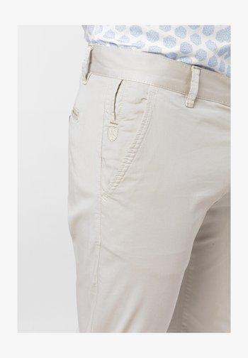 ERCOLET  - Trousers - beige